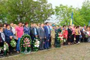 Мітинг, присвячений Дню пам'яті та примирення  та з нагоди 73-ї річниці Великої Перемоги