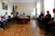 Засідання робочої групи щодо визначення місцерозташування, для встановлення пам'ятного знаку загиблим воїнам АТО